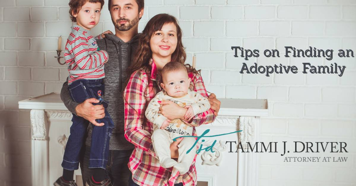 adoptive family smiling